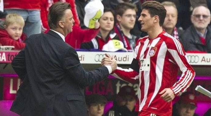 Mario Gomez'e Van Gaal kancası