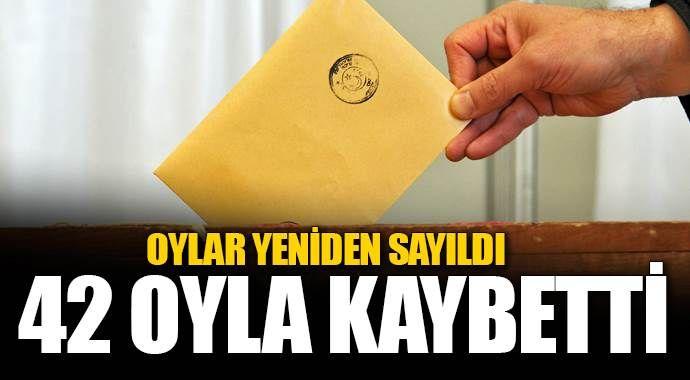 HDP o ilde ikinci vekili 42 oyla kaybetti