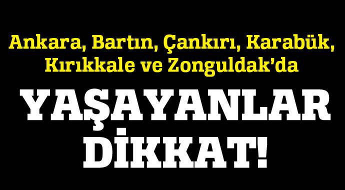 Bu illerde yaşayanlar dikkat! 8 Kasım'da elektrik kesilcek