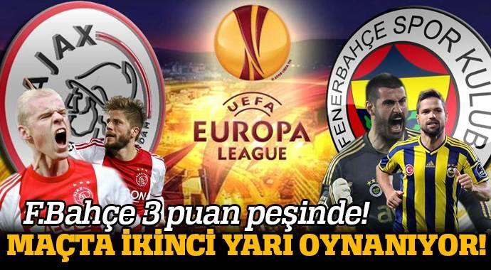 Ajax 0-0 Fenerbahçe Maçı Özeti ve Golleri ( FBahçe, AJAX MAÇI SKORU, GENİŞ ÖZETİ)