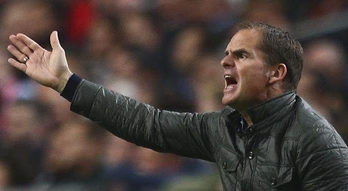 De Boer'den Fenerbahçe itirafı: Kabul etmeliyiz