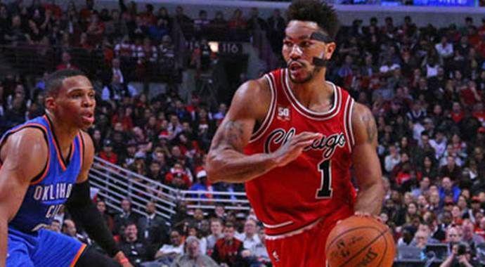 Chicago Bulls'u Rose taşıdı