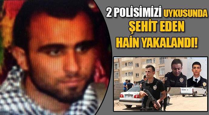 2 polisi şehit eden terörist Mardin'de yakalandı