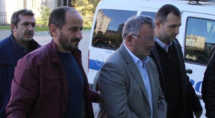 Silahla 3 kişiyi yaralayan esli başkan tutuklandı