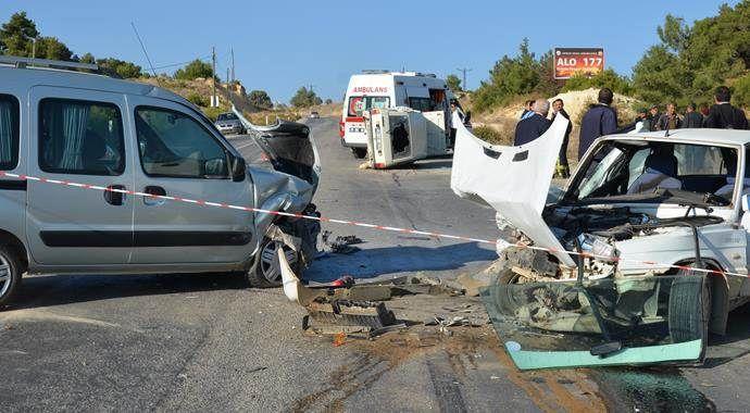 Denizli'de zincirleme kaza: 1 ölü, 3 yaralı