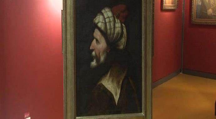 Barbaros Hayreddin Paşa'nın en eski portresi ilk kez sergilendi