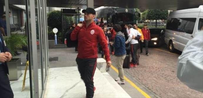 Galatasaray kafilesi Trabzon'da!