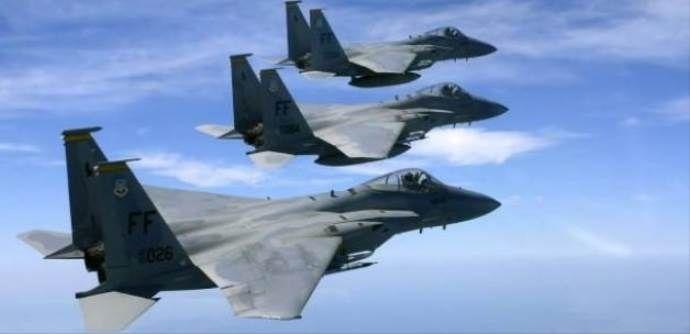 ABD F-15'leri İncirlik'te
