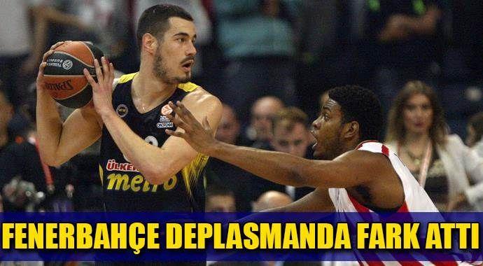 Fenerbahçe Kızılyıldız'ı dağıttı
