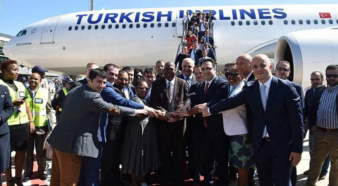 THY, Afrika uçuşlarını on yılda 10 kat artırdı
