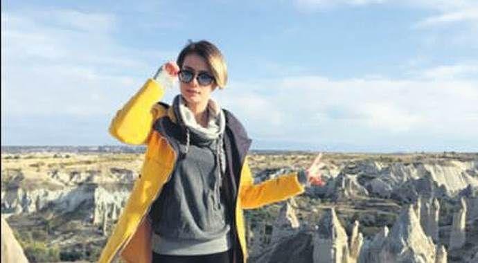 Çiğdem Batur'un Kapadokya keyfi