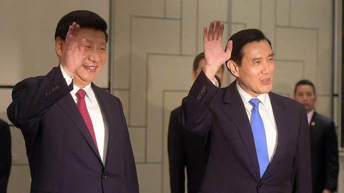Çin ve Tayvan liderleri 66 yıl sonra bir arada