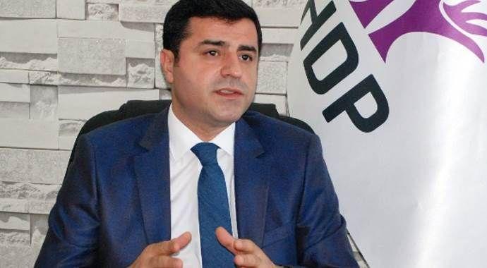 Demirtaş'tan AK Parti ve CHP'ye çağrı