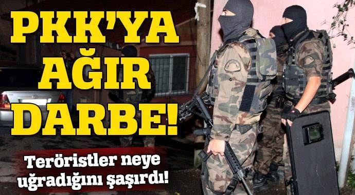 PKK cephaneliklerine operasyon