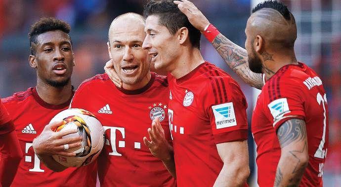 Bayern 12'den!