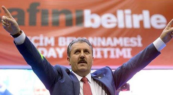 BBP'li Mustafa Destici: Görevi bırakmaya hazırım!