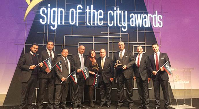 Awards'ın yıldızı: YDA Group