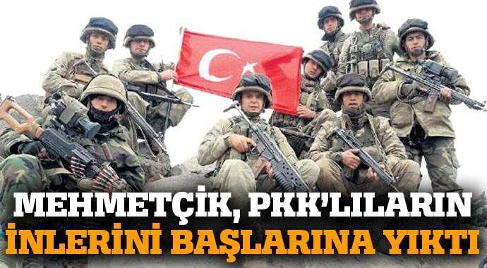 40 gün süren operasyonla PKK'lılar temizlendi