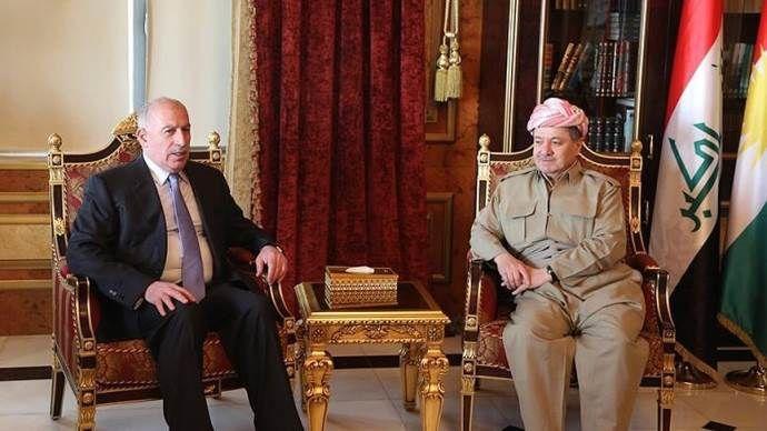 Nuceyfi, IKBY Başkanı Barzani ile görüştü