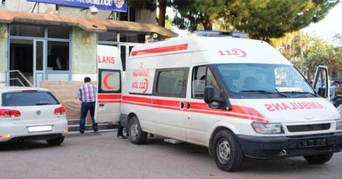 Ambulans görünümlü araçla sigara kaçakçılığı