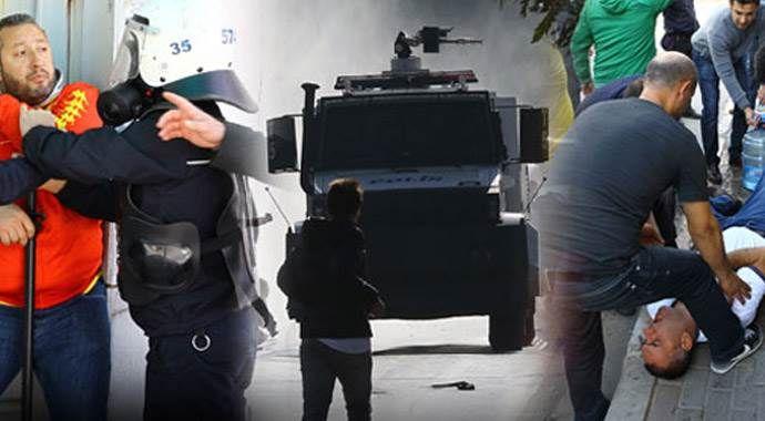 İzmir derbisi öncesi kavga çıktı