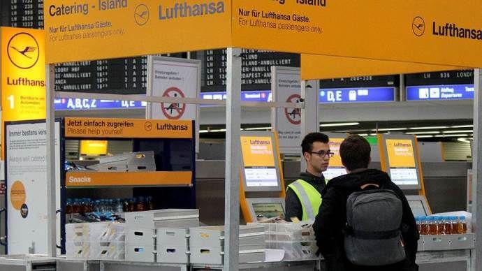 Lufthansa'da grev yarın da sürecek