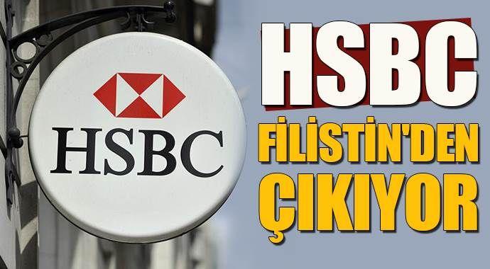 HSBC, Filistin'den çıkıyor