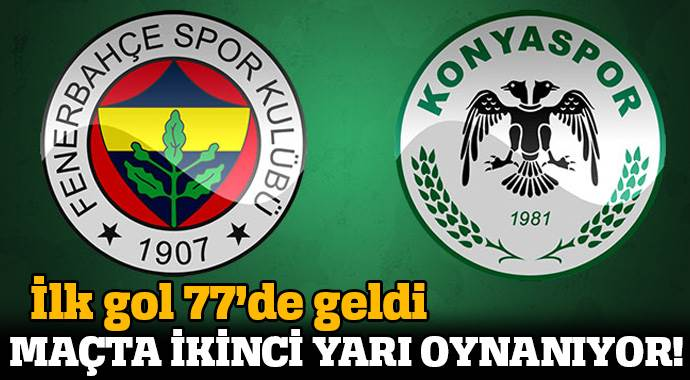 Fenerbahçe 1-0 Konyaspor Maçı Özeti ve Golleri ( FB, KONYA MAÇI SKORU, GENİŞ ÖZETİ)
