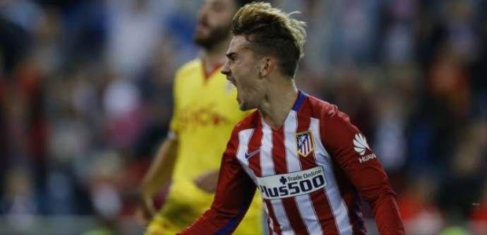 Atletico Madrid'ten son saniye üçlüğü