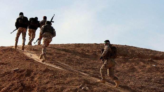 Irak'ta DAEŞ'e karşı savaşacak askerlerin eğitimi tamamlandı