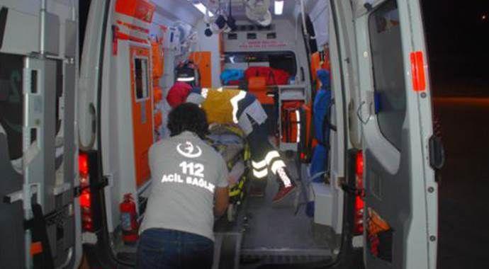 Yolcu otobüsü devrildi: 1 ölü, 41 yaralı