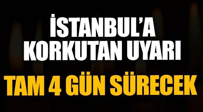 İstanbul'da 4 gün elektrik kesintisi