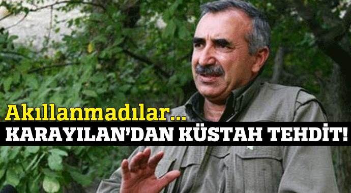 Murat Karayılan'dan küstah tehdit!