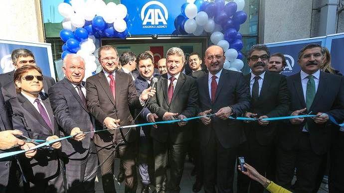 Başbakan Yardımcısı Akdoğan AA'nın Üsküp ofisini açtı