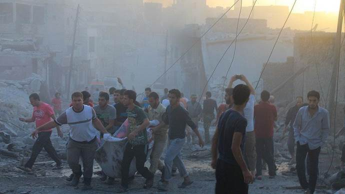 'Ruslar da rejim gibi sivilleri hedef alıyor'