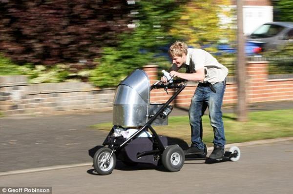 En hızlı bebek arabası