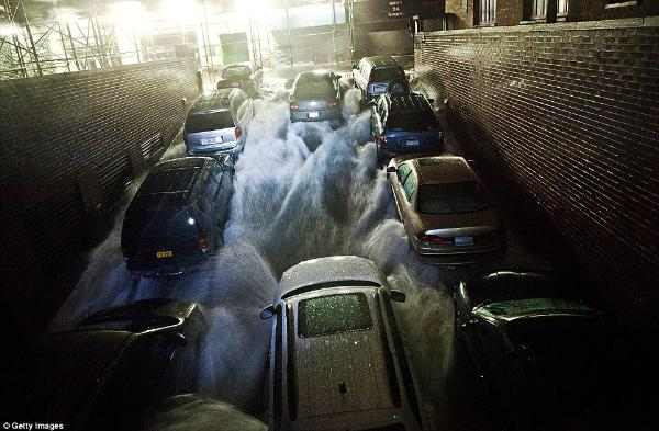 Sandy Amerika'yı vurdu