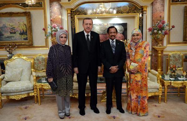 Erdoğan, Brunei'de