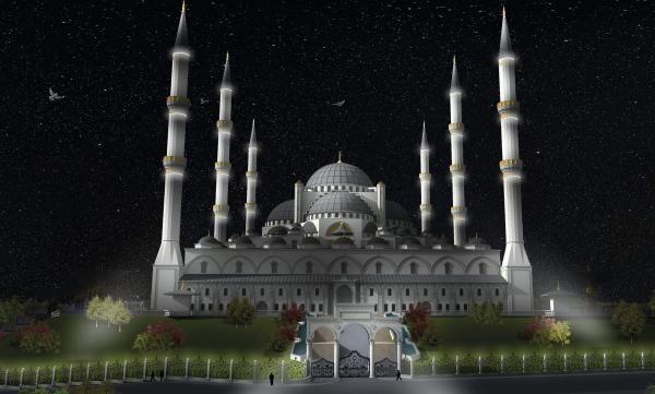 İşte yeni Çamlıca Camii