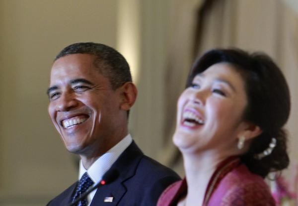 Obama, Tayland'da