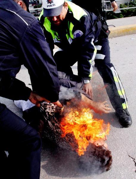 2012'ye damga vuran İHA fotoğrafları