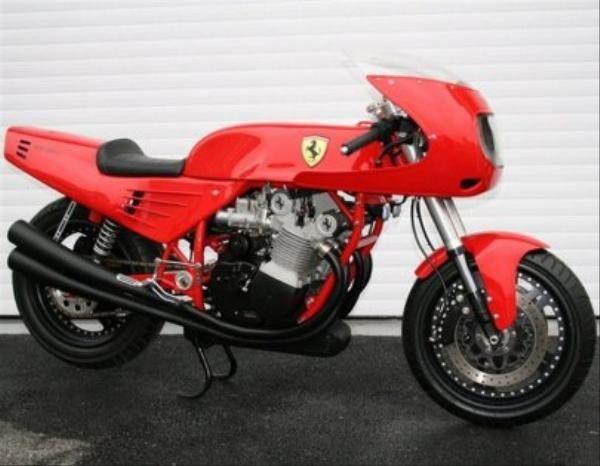Ferrari'nin tek motosikleti