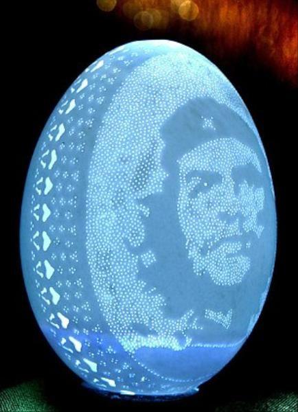 Yumurta kabuklarından sanat