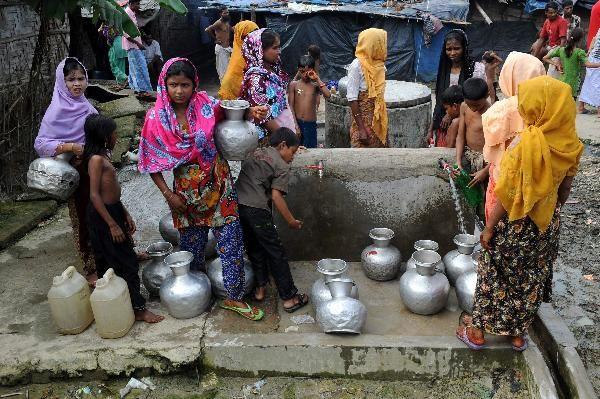 Burmalı Müslümanların durumu aynı