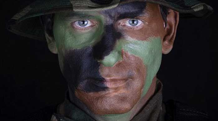 Bombalı Saldırılardan Koruyan Yüz Boyası