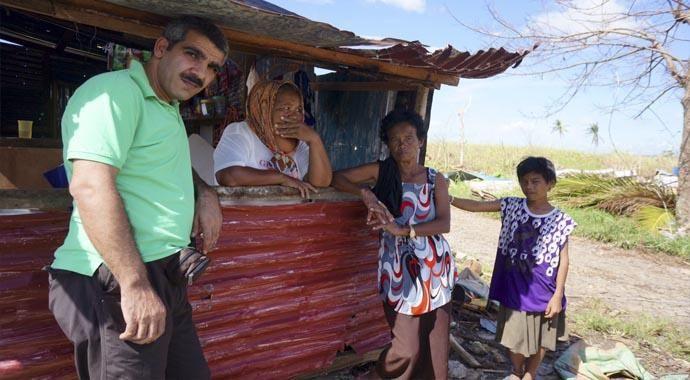Filipinler'den yürek burkan görüntüler