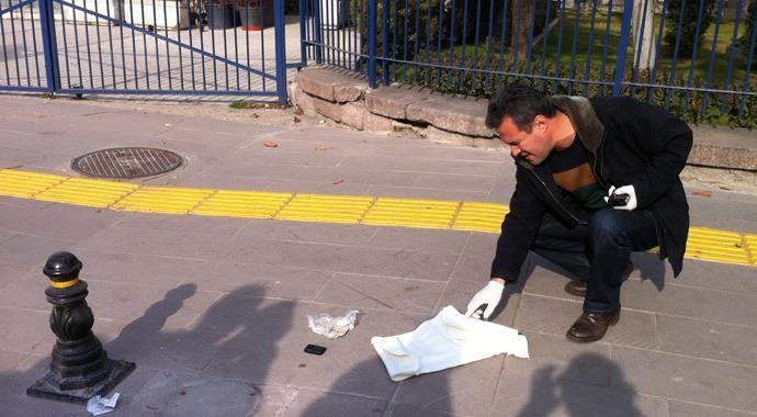 Başbakanlık önünde canlı bomba şüphesi