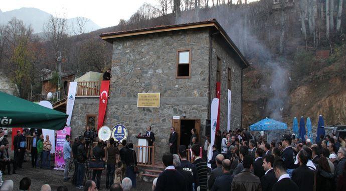 Zeyniler Köyü'nde 'Çalıkuşu Evi' açıldı