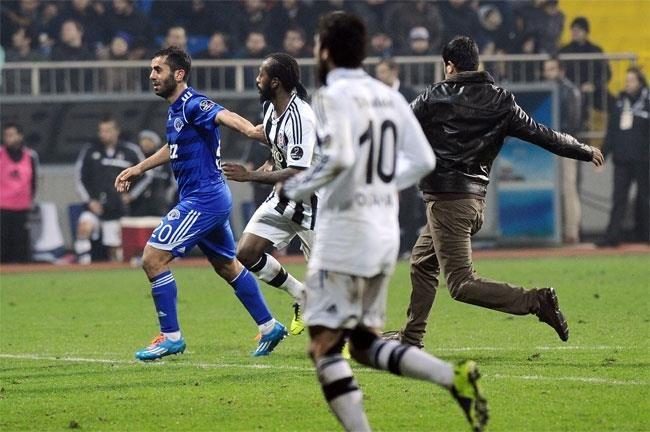 Beşiktaş Kasımpaşa maçından kareler