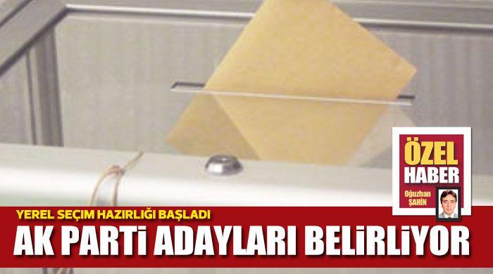 AK Parti adayları belirliyor